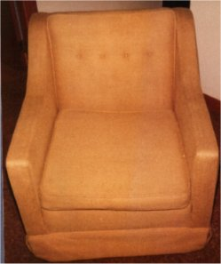 Clean Chair Upholstery